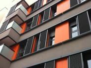Sliding aluminium solar shading DUFIX 60Z | Solar shading - INDÚSTRIAS DURMI