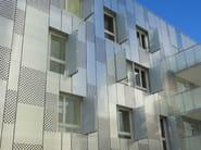 Perforated metal Panel for facade DUPANEL PERFORÉE - INDÚSTRIAS DURMI