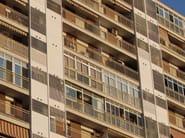 Adjustable aluminium solar shading DUTEC 150E - INDÚSTRIAS DURMI