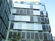 Adjustable aluminium solar shading DUTEC 150R | Solar shading - INDÚSTRIAS DURMI