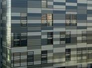 Adjustable aluminium solar shading DUTEC 150T - INDÚSTRIAS DURMI
