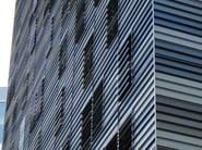 Adjustable aluminium solar shading DUTEC 200T - INDÚSTRIAS DURMI