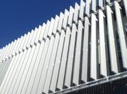 Adjustable aluminium solar shading DUTEC 300T - INDÚSTRIAS DURMI