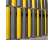 Adjustable galvanized steel solar shading DUTEC 600H - INDÚSTRIAS DURMI