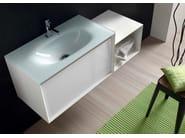 Sistema bagno componibile E.45 COMPOSIZIONE 5 - Arcom