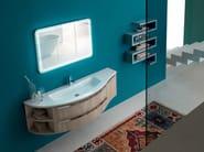 Single wooden vanity unit E.LY - COMPOSITION 20 - Arcom
