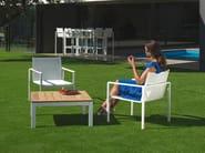 Poltroncina da giardino in Batyline® con braccioli ALURA | Poltroncina - ROYAL BOTANIA
