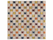 Marble mosaic BOITE - CONTEMPORARY BOX - EBRIL - Lithos Mosaico Italia - Lithos