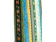 Upholstered high-back fabric chair ECONO VERY IRISH - KARE-DESIGN