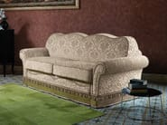 Classic style fabric sofa bed with removable cover ELEKTRA | Classic style sofa bed - Domingo Salotti