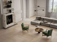 Indoor porcelain stoneware wall/floor tiles with wood effect ELEMENTS NATURAL IVORY - CERAMICHE KEOPE