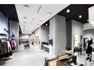 Adjustable ceiling metal spotlight ELLE   Ceiling spotlight - PANZERI