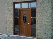 Glass and aluminium door panel ELLISSE/X1 - ROYAL PAT