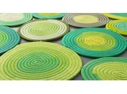 Handmade rug with geometric shapes ELLISSI - Paola Lenti