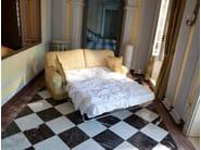 2 seater sofa bed ENEA   Fabric sofa - Domingo Salotti