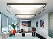 Direct-indirect light fluorescent aluminium pendant lamp ESPRIT | Direct-indirect light pendant lamp - Artemide