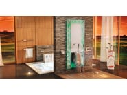 Floor standing chromed brass washbasin mixer ESSENZA SET ONE | Washbasin mixer - LINEAG