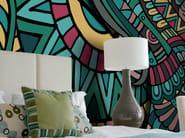 Motif non-woven paper wallpaper ETHNIC - LGD01