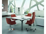 Medium back executive chair DAPHNE | Executive chair - Quadrifoglio Sistemi d'Arredo