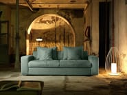 3 seater sofa bed with removable cover EXTON | 3 seater sofa - Domingo Salotti