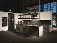 Kitchen with island without handles FACTORY | Kitchen with island - Aster Cucine