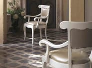 Solid wood chair with armrests FENICE | Chair with armrests - Arvestyle