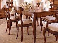 Sedia in legno massello con schienale aperto FENICE | Sedia in legno massello - Arvestyle