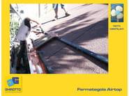 Tiles fixing system FERMATEGOLA AIRTOP - GHIROTTO TECNO INSULATION
