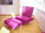 Fabric footstool ALPHABET - FI TALL | Footstool - Segis