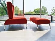 Upholstered fabric armchair ALPHABET - FI TALL - Segis