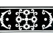 Ceramic wall tiles / flooring FIORI SCURI TOVERE NERO - CERAMICA FRANCESCO DE MAIO
