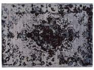 Tappeto fatto a mano rettangolare in lana e seta FIRUZABAD DARK - Golran