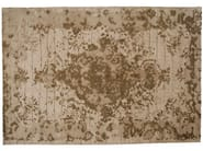 Patterned handmade rectangular rug FIRUZABAD WHITE - Golran