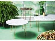 Round marble coffee table FLAMINGO   Round coffee table - Felis