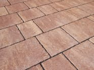Concrete paving block FLAMINIA - PAVESMAC