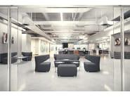 2 seater fabric leisure sofa FLEXI CLUB 2 - LD Seating