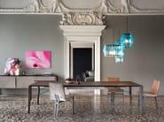 Glass floor lamp OOMPA-LOOMPA | Floor lamp - Arketipo