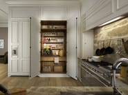 Lacquered wooden kitchen FLORAL | Lacquered kitchen - L'Ottocento