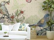 Motif non-woven paper wallpaper FAUNE & FLORE LIN - LGD01