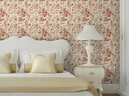 Non-woven paper wallpaper with floral pattern FLOREAL - LGD01