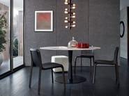 Tavolo rotondo in marmo FLUTE | Tavolo in marmo - Poliform