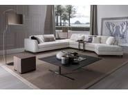 Square wooden coffee table FLY - FRIGERIO POLTRONE E DIVANI
