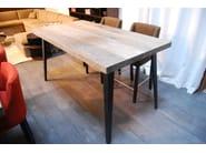 Oak dining table FUSEAU - CABUY D.