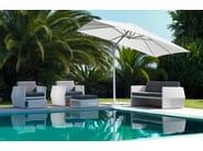 Garden armchair with armrests CARLOS | Garden armchair - Talenti