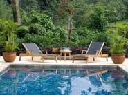 Recliner Batyline® garden daybed PORTSEA | Garden daybed - 7OCEANS DESIGNS