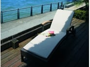 Recliner garden daybed with Casters ALPINE | Garden daybed - 7OCEANS DESIGNS