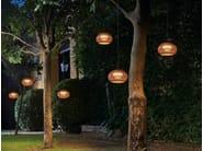 LED polyethylene pendant lamp GAROTA HANG - BOVER Il. Luminació & Mobiliario