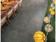 Pavimento/rivestimento effetto pietra per esterni GEO GRIS - NOVOCERAM
