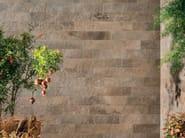 Outdoor wall/floor tiles with stone effect GEO SABLE - NOVOCERAM