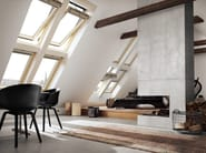 Wooden horizontally pivoted window GGL INTEGRA® SOLAR - VELUX